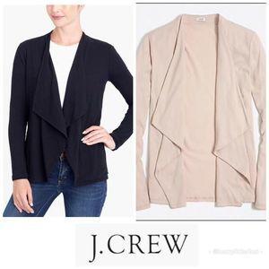 New! J. Crew Always Cascading Cardigan Cotton Pink